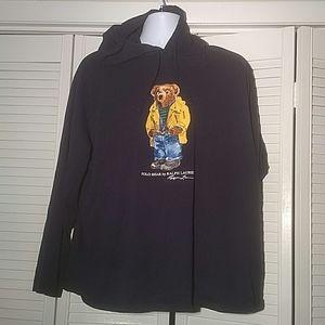 Polo Ralph Lauren Raincoat Bear Light Hoodie, XXL
